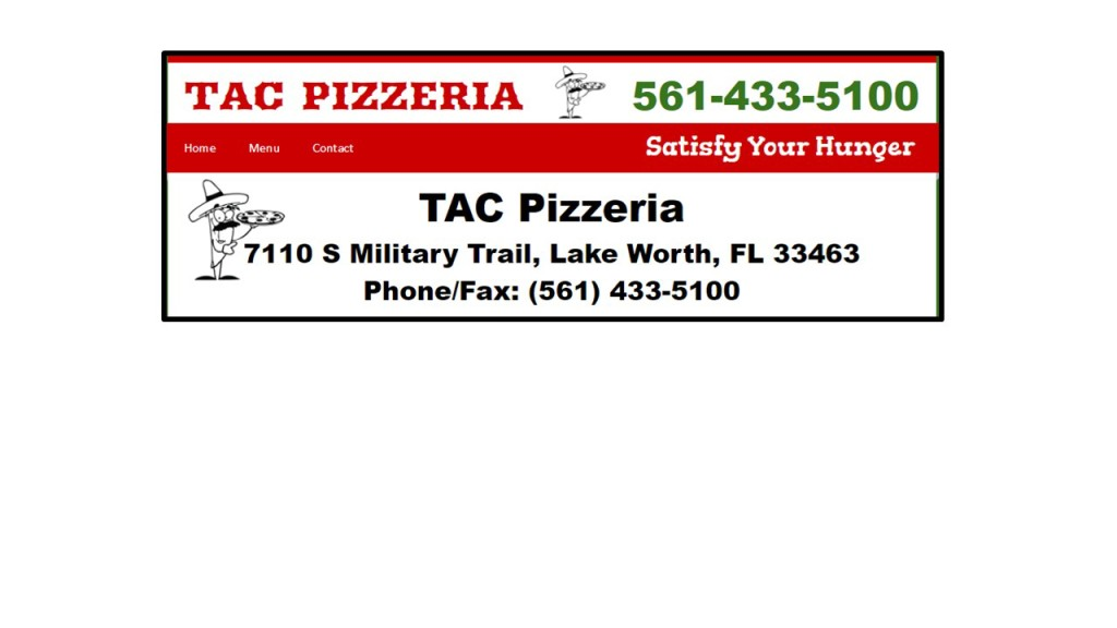 tac pizza